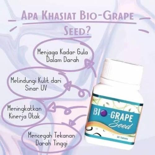 Foto Produk BIOGRAPE seed-mengontrol gula darah,tekanan darah tinggi & antioksidan dari bintang7 herbal