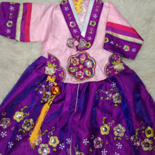 Foto Produk hanbok Korea anak perempuan / hanbok baby perempuan dari Vaganza Kids