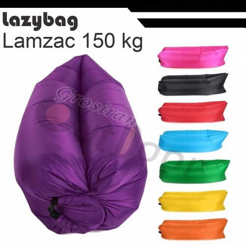 Foto Produk lazybag / lazy bag / air bed / merk L'A'M'Z'A'C - Hijau Army dari grosiran-outdoor