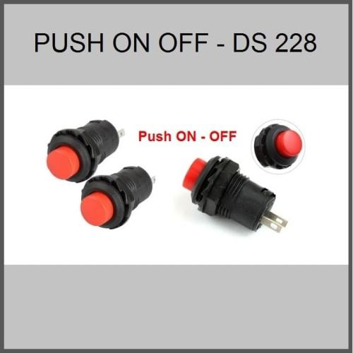 Foto Produk Switch push on off DS 228 dari Hobi Led