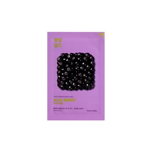 Foto Produk (5+5*) Holika Holika Pure Essence Mask Sheet Charcoal - Acai Berry dari Holika Holika Indonesia