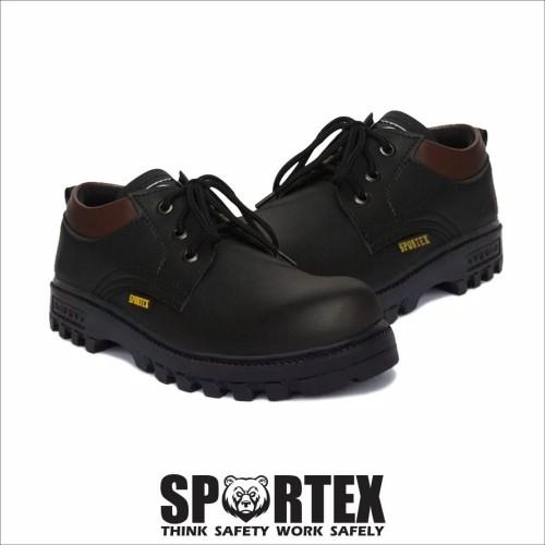 Foto Produk safety shoes pendek by sportex - Hitam, 39 dari sportex_shoes