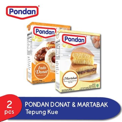 Foto Produk Pondan Indo Donat 362g & Martabak 400g dari Pondan Food