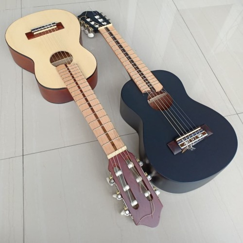 Foto Produk Guitalele gitalele Neck Utuh GL1 super custom gitar mini hitam dari Olista Gitar