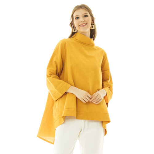 Foto Produk Hema Blouse - Beatrice Clothing - Mustard dari Beatrice Clothing