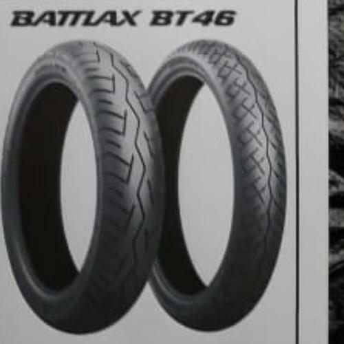 Foto Produk BAN LUAR BATTLAX BT 46 UKURAN 120 /80 -18 TUBELESS dari PGX Motor Sports