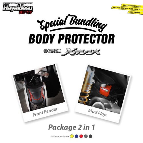 Foto Produk Hayaidesu XMAX PAKET HEMAT Special Bundle Body Protector dari Hayaidesu Indonesia