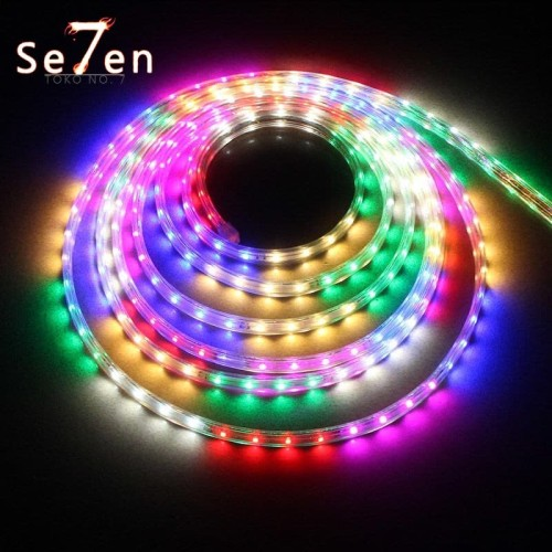 Foto Produk Lampu LED Hias Selang Outdor 10 Meter Warna-Warni RGB Eksterior Natal dari Toko No.7