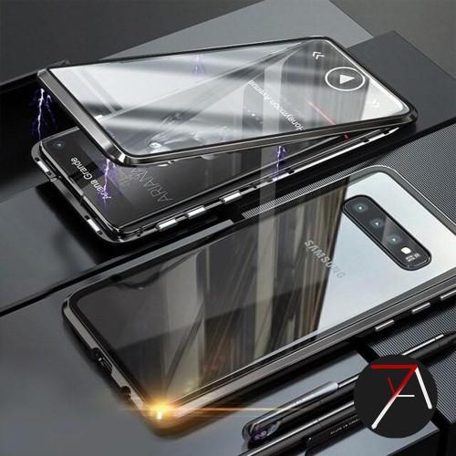 Foto Produk Samsung Galaxy S10 Plus S10Plus Double Side Glass Magnetic Case Cover - Biru dari 17 Agustus