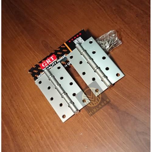 "Foto Produk Engsel Pintu 5"" inch , Engsel Jendela 5 inchi merk GRT dari Midlands"