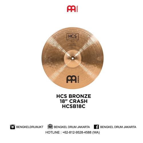 "Foto Produk Meinl Cymbal HCS BRONZE 18"" CRASH - HCSB18C dari Bengkel Drum Jakarta"