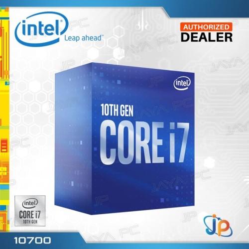 Foto Produk Processor Intel Core I7 10700 Box Comet Lake Socket LGA 1200 dari Jaya PC