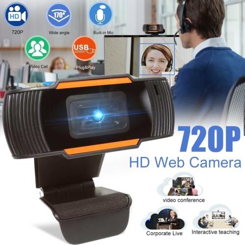 Foto Produk X85 HD 720P Webcam Autofocus Web Camera Cam For PC Laptop Desktop dari Mix acc88