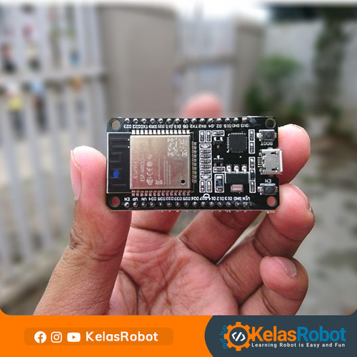 Foto Produk ESP32 DOT DEVKIT V1 IoT Board Compatible Arduino IDE dari Kelas Robot