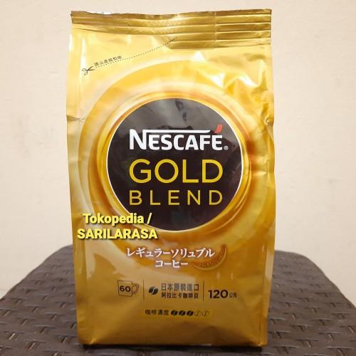 Foto Produk JAPAN Quality!! Refill Nescafe Gold Blend 120gr , Japan Freeze Dried dari Sarilarasa