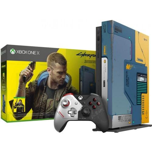Foto Produk Xbox One X Cyberpunk Limited Edition 1TB dari GAMELAND