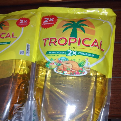 Foto Produk Minyak GORENG Tropical Promo 2 liter dari Ronald Mobilindo Gold