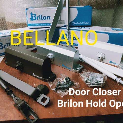 Foto Produk Door Closer Brilon Hold Open - Cokelat dari Bellano