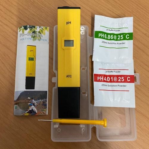 Foto Produk PH Meter PH Digital Tester PH Ukur Alat Pengukur Keasaman Cairan Air dari RWshopss