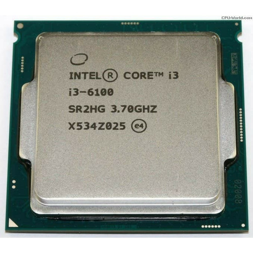 Foto Produk Processor Intel Core I3 6100 3.70GHZ Tray LGA 1151 dari Ichiban Computer