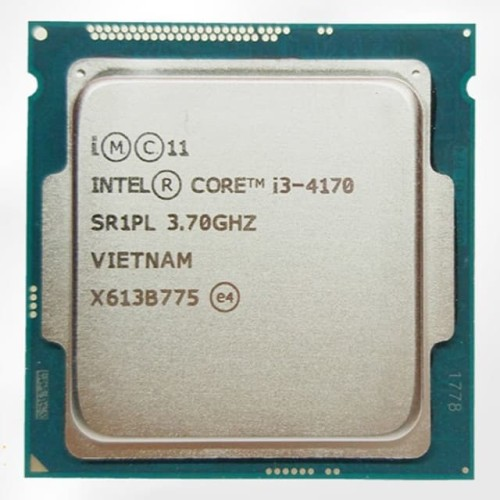 Foto Produk Processor Intel Core I3 4170 3.70GHZ Tray LGA 1150 dari Ichiban Computer