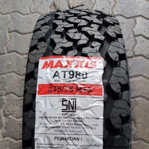 Foto Produk Maxxis AT 980 215/75r15 Ban Mobil 215 / 75 R15 New Jimny Innova Terios dari AngRis