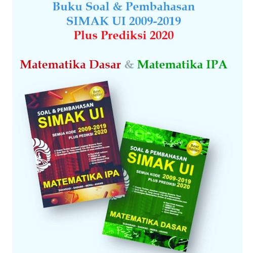 Foto Produk Buku SIMAK UI Matematika Dasar&IPA 2009-2019 +2020 dari adisuhar
