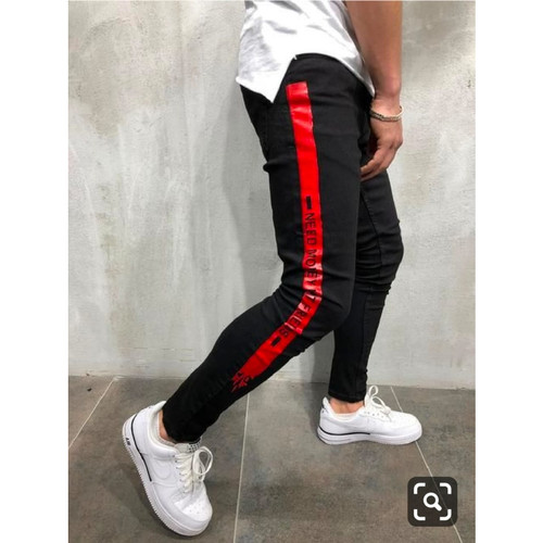 Foto Produk Celana Joger Revan / Celana Joger Pria / Training Jogger Olahraga - Hitam dari MissMe Collection