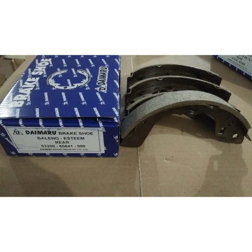 Foto Produk Kampas Rem Belakang Brake Shoe Suzuki Baleno Esteem 1.3 53200-60841 dari Pusat Onderdil Grosir