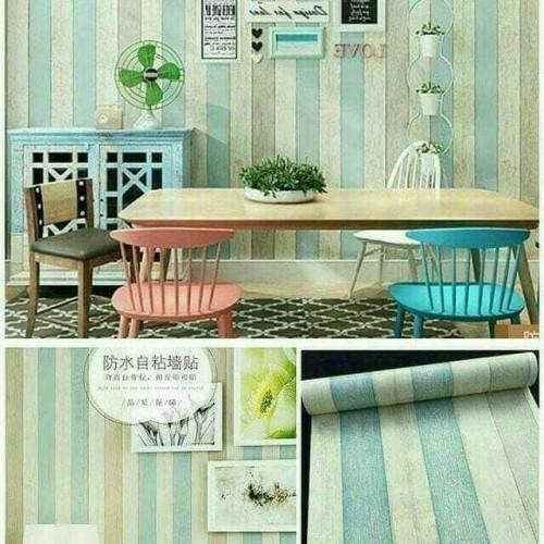 Foto Produk wallpaper dinding serat kayu 45 cm x 10 m dari jay acc
