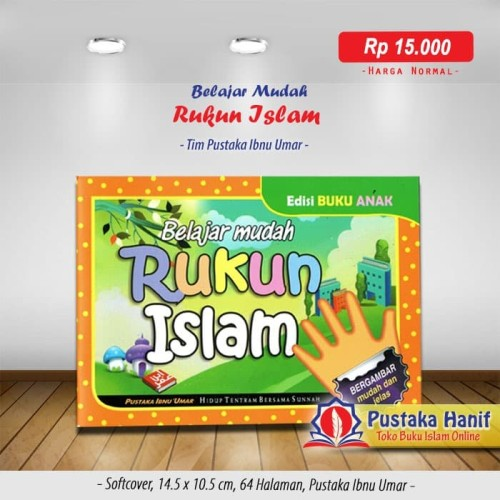 Foto Produk Buku Anak Belajar Mudah Rukun Islam - Bergambar & Full Color dari Pustaka Hanif