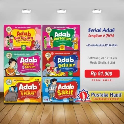 Foto Produk Buku Serial Adab Anak Islam 6 Jilid + Bonus Stiker Islami dari Pustaka Hanif