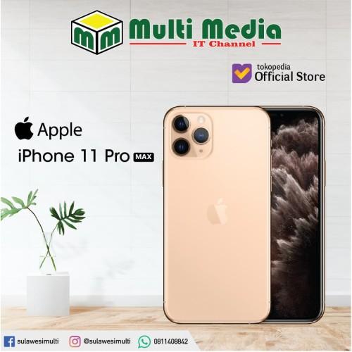 Foto Produk APPLE IPHONE 11 PRO MAX - 64 gb dari Sulawesi Multi Cell