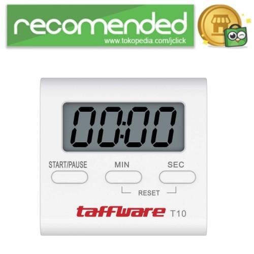 Foto Produk Taffware Timer Masak Dapur Countdown Digital Alarm Clock - T10 / Putih dari JClick