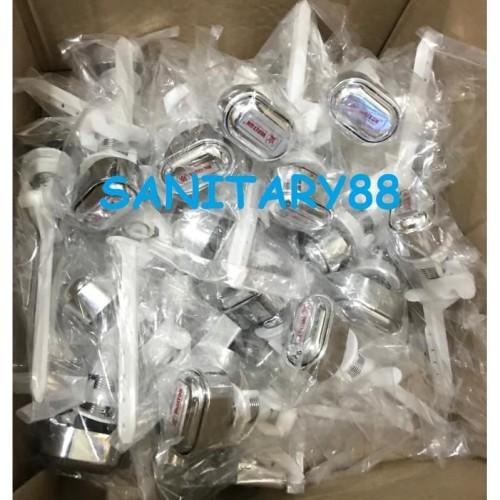 Foto Produk Tombol Closet Pencet Samping / Handle Closet Tombol Tekan Samping dari Sanitary88