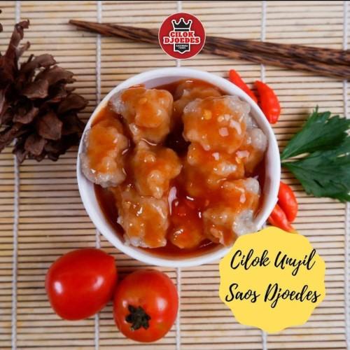 Foto Produk Cilok Djoedes Frozen Unyil 1 pack isi 45pcs kecil-kecil - saos djoedes dari Frozz Bite Frozen Food