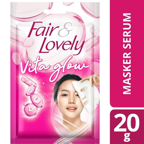 Foto Produk Fair & Lovely Multivitamin Serum Sheet Mask 20G dari Unilever Official Store
