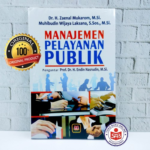 Foto Produk Manajemen Pelayanan Publik - Zaenal Mukarom dari Social Agency Baru