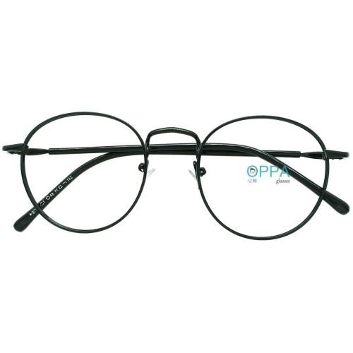 Foto Produk Frame Kacamata Korea Pria Wanita OPPA OP07 FBL Hitam Bulat Fashion dari Oppa Glasses