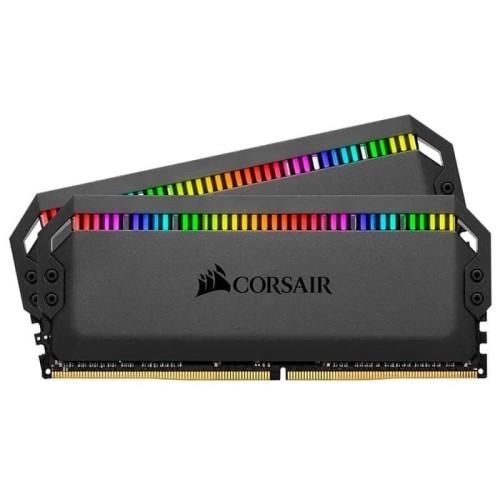 Foto Produk DOMINATOR PLATINUM RGB 32GB 2 x 16GB 3200MHz C16 CMT32GX4M2C3200C16 dari Rakitan Official