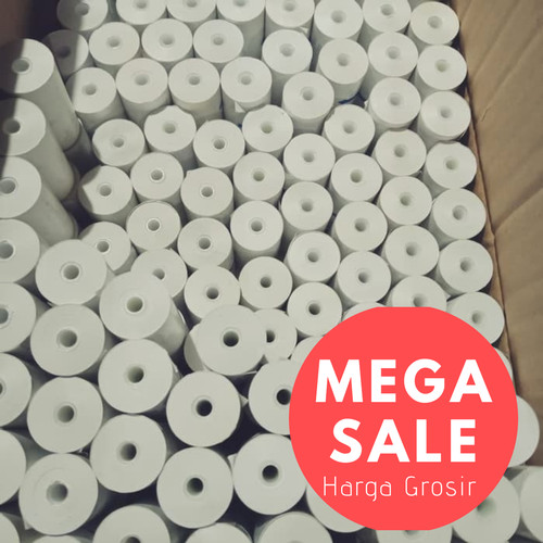 Foto Produk Kertas Thermal/ Struk /Kasir/ EDC /Paper Roll 58x30 mm dari HausJo