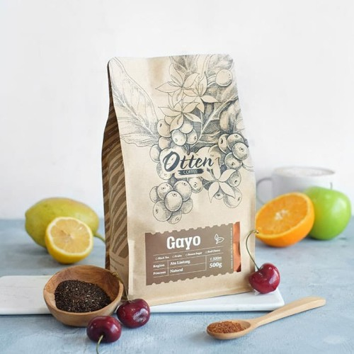 "Foto Produk Otten Coffee Arabica Gayo ""Natural Process"" 500g dari OTTEN COFFEE"