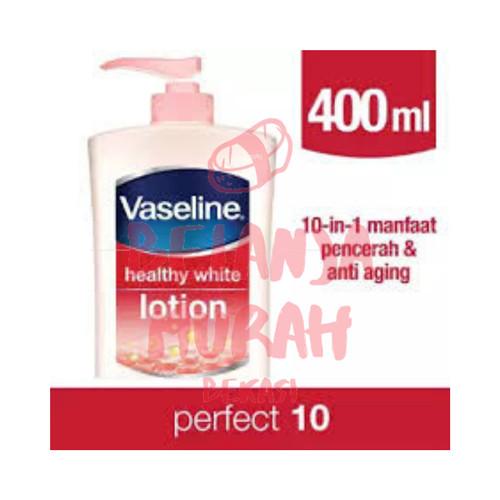 Foto Produk VASELINE Perfect 10 Body Lotion 400 ml Vaseline Healthy White Losion dari Belanja Murah Bekasi