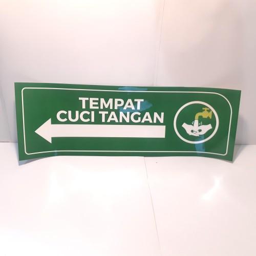 Foto Produk Stiker Penunjuk Arah Cuci Tangan dari Syafana