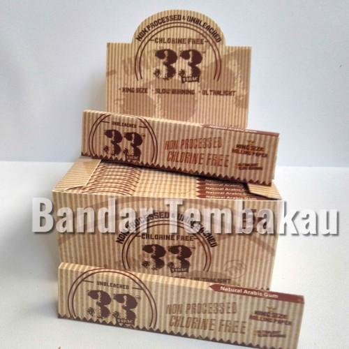 Foto Produk Kertas Tabac 33 Brown King Size Slim dari bandar_tembakau