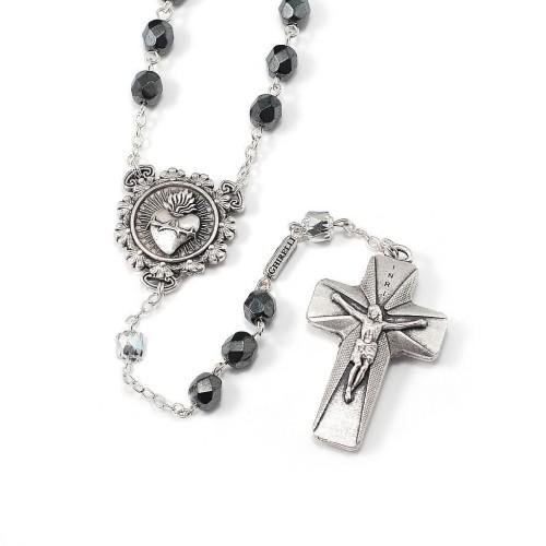 Foto Produk Rosario Bohemian Glass Rosary of Man Italy Katolik Berkualitas dari AvilaShop Indonesia