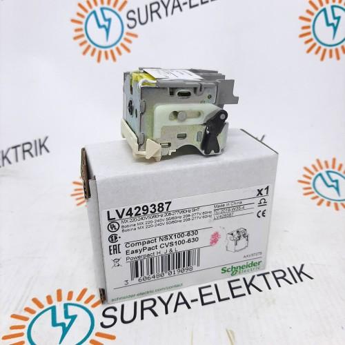 Foto Produk SHUNT TRIP VOLTAGE RELEASE MX LV429387 200/240VAC NSX SCHNEIDER ORI dari SURYA-ELEKTRIK