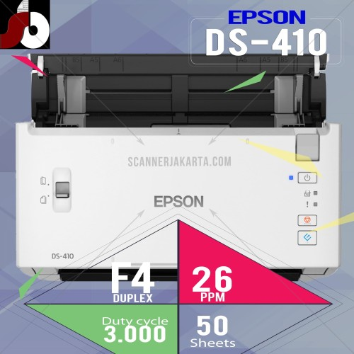 Foto Produk Scanner Epson DS 410 dari scanner bandung