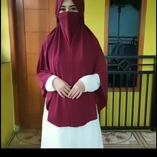 Foto Produk hijab cantik   jilbab instan anti virus   Hijab Masker dari Hijab Cantik Modern