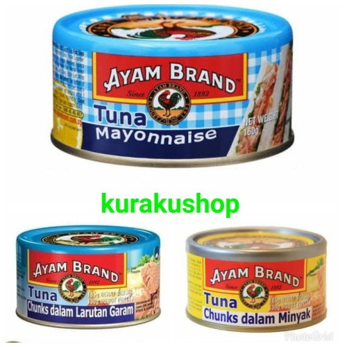 Foto Produk TUNA AYAM BRAND - Larutan Garam dari Kurakushop
